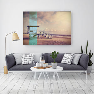 Baywatch Breeze, Canvas Art - modern & abstract