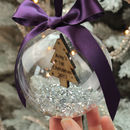 Personalised Tree Baby's First Christmas Bauble