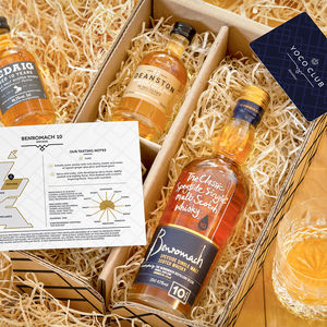 Explorer's Case Of Three Scotch Whiskies - valentine's gifts for him