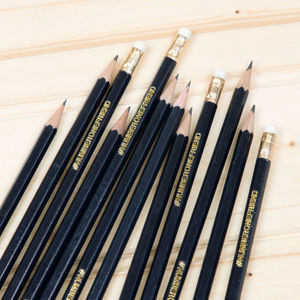 Personalised Graphite Pencils - stationery