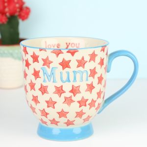 Starry 'Mum' Mug - what's new