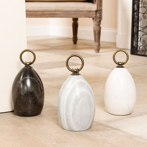 Personalised Contemporary Marble Door Stop - door stops