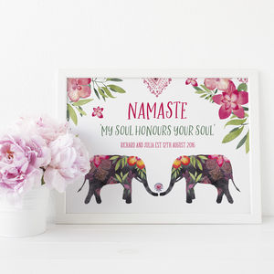 Engagement Gift Namaste - decorative accessories