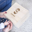 Children's Personalised Name Memory Box