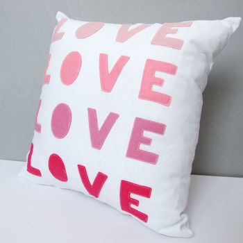 Ombre Love Cushion