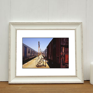 Deserted Train Station, Venice Photographic Art Print