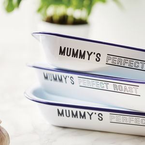 Enamel Personalised Baking Tray - personalised gifts