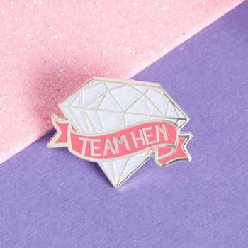 Hen Party Lapel Pin