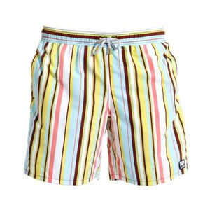 Boy's Multi Stripe Swimming Shorts - clothing