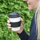 'Love You A Latte' Personalised Reusable Coffee Cup