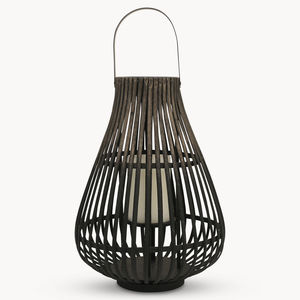 Maitland Wicker Lantern - candles & home fragrance
