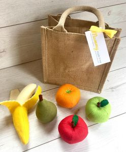 Pretend Play Felt Food Fruit Collection