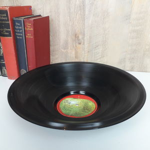 Vinyl Record Bowl By Artist