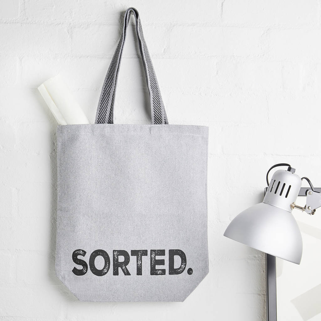 Sorted Recycled Canvas Bag