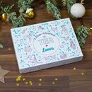 Personalised 12 Days Of Christmas Tea Advent