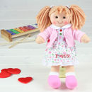 Personalised Rag Doll From Birth