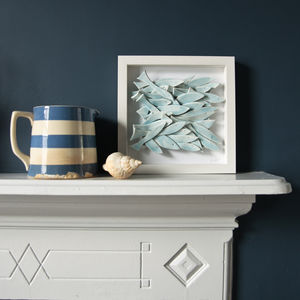 School Of Fish Sculptural Wall Art - personalised