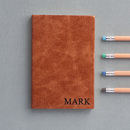 Leather Personalised Notebook'