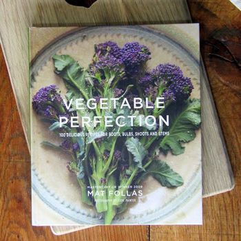 Signed 'Vegetable Perfection' Cookbook By Mat Follas