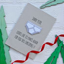 Christmas Pants Card