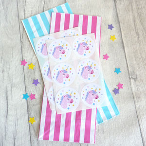 Unicorn Stickers And Party Bags