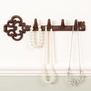 Traditional Cast Iron Wall Key Rack