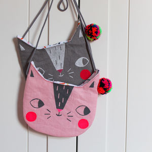 Children's Cat Handbag