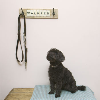 Walkies Wood Dog Lead Hook