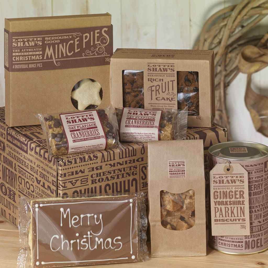 Christmas Treat Hamper Box by Lottie Shaw's