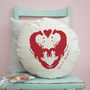 Lobster Love Personalised Cushion