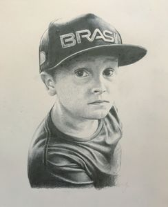 Personalised Portrait Drawing - photography & portraits