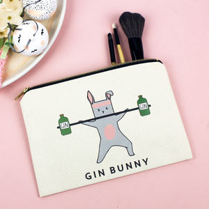 'Gin Bunny' Make Up Bag - make-up & wash bags