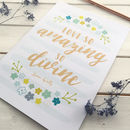 'Love So Amazing' Inspirational Christian Print