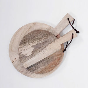 Mango Wood Chopping Server Pizza Board