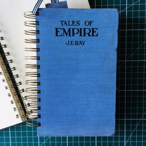 'Tales Of Empire' Upcycled Notebook