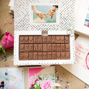 Romantic Chocolate Love Letter - food gifts