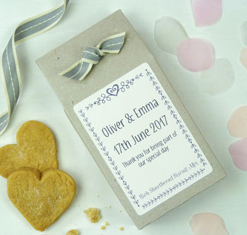 personalised wedding favors