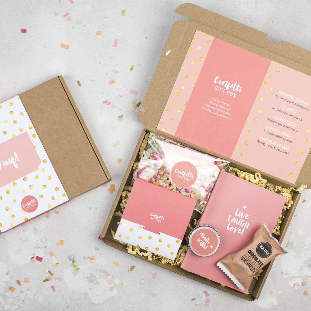 Personalised Birthday In A Box Gift Box By Milly Inspired