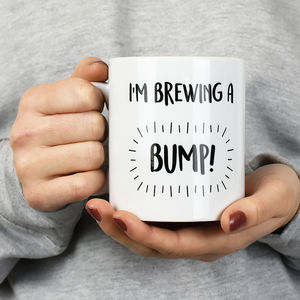 I'm Brewing A Bump Mug
