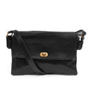 Pochette Three Poches Leather Shoulder Bag