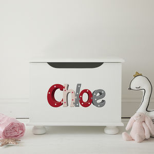 Toy Box Personalised Girls Jigsaw