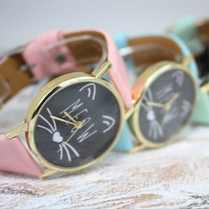 Meow Cat Watch - new in jewellery
