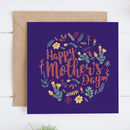 Mother's Day Floral Folk Card