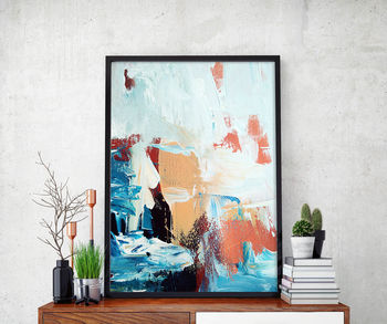 Abstract 44 Limited Edition Fine Art Print A4 Size