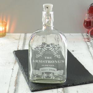Sloe Gin Personalised Bottle - personalised mother's day gifts