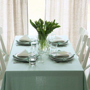 Linen Tablecloth Terra - kitchen
