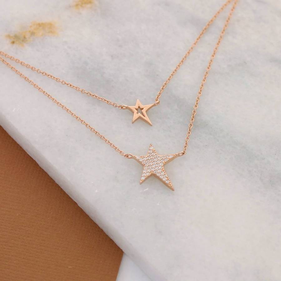 gold layer cat romwe p women necklacefor round double necklace geometric