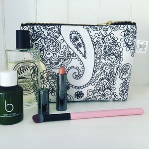 Mono Cotswold Paisley Makeup Bag - make-up & wash bags