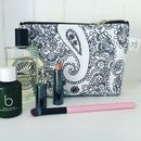 Mono Cotswold Paisley Makeup Bag
