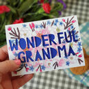 Paper Cut Card For Grandma Or Nanny